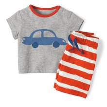 54sets/lot Boys T-Shirts Pants Set