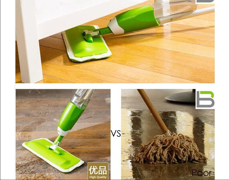 Home Spray Water Mop Living Room Cleaners Household Cleaning Tools Flat Sprinkle Mops With Flush Valves Cleaner(China (Mainland))