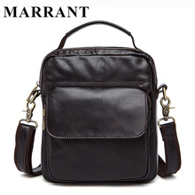 MARRANT Genuine Leather Bag Men Crossbody bags fashion Men's Messenger leather Shoulder Bags handbags Small Travel Male Bag 9073(China (Mainland))