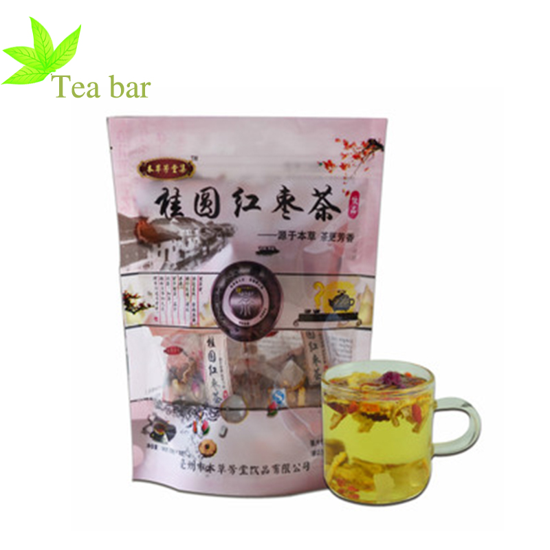 longan jujube mix tea New flavor AAAAA health tea Chinese Style Coffee natural green organic tea