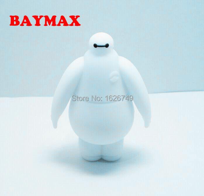 2015 Newest Hot! Big Hero 6 BAYMAX usb flash drive cute cartoon pendrive 8gb 16gb 32gb mini robot memory stick USB 2.0 Gifts(China (Mainland))