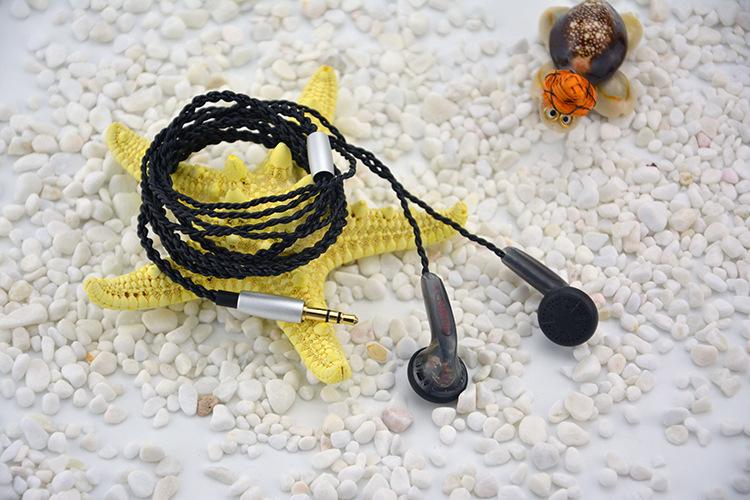 FAAEAL 64ohm Earphone 3.5mm In Ear HiFi Headphones Ecouteur DIY Monitor/DJ Headset Alloy Tune Earbuds Mobile Mp3 Earphones
