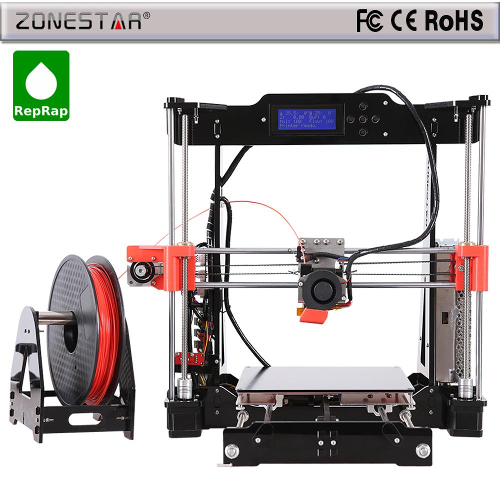 3d printer DIY Kit Reprap Prusa i3 3d printer The 8th Generation P802M Upgrade P802N Gift
