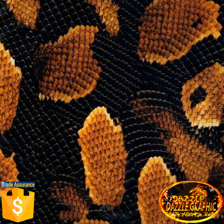 [Width 50cm] Factory Outlet Dazzle Graphic Hydrographics Films, DGDB89 Gold Snake Boa Water Transfer Printing Film(China (Mainland))