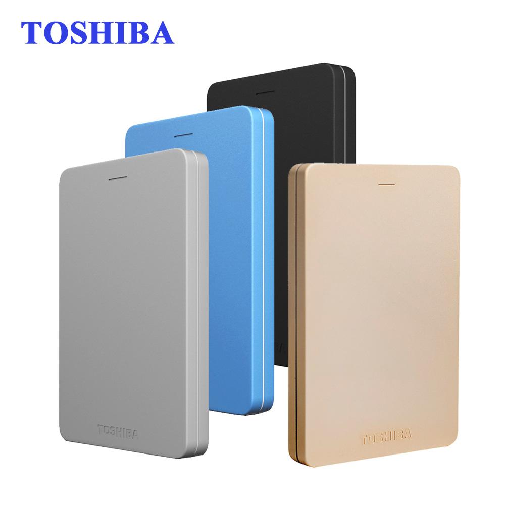"Toshiba Canvio Alumy USB 3.0 2.5"" 500G/1TB/2TB External Portable Hard Drives HDD Hard Disk Externo Disco to Desktop Laptop(China (Mainland))"