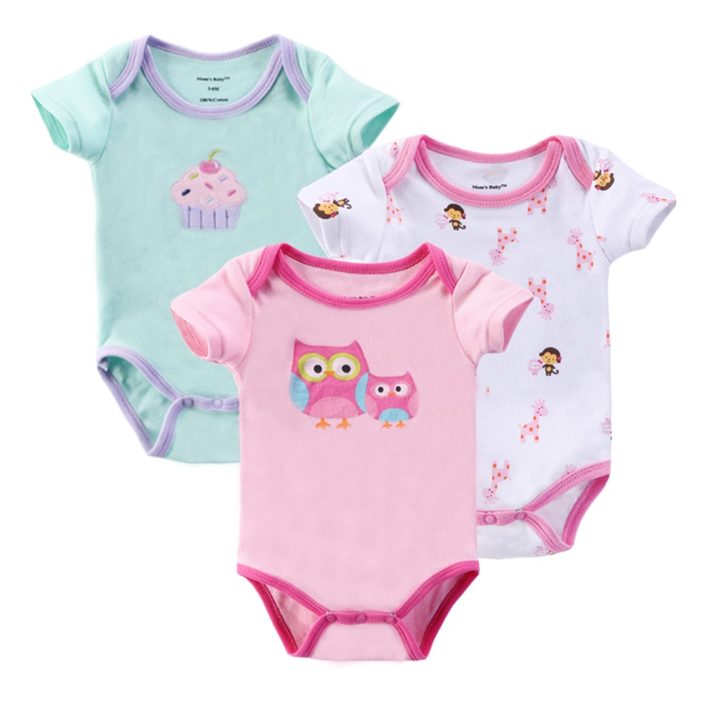 Baby Rompers Newborn Clothes Baby Clothing Set Boys Girls Brand Carters 100%Cotton Jumpsuits Short Sleeve Overalls Coveralls(China (Mainland))