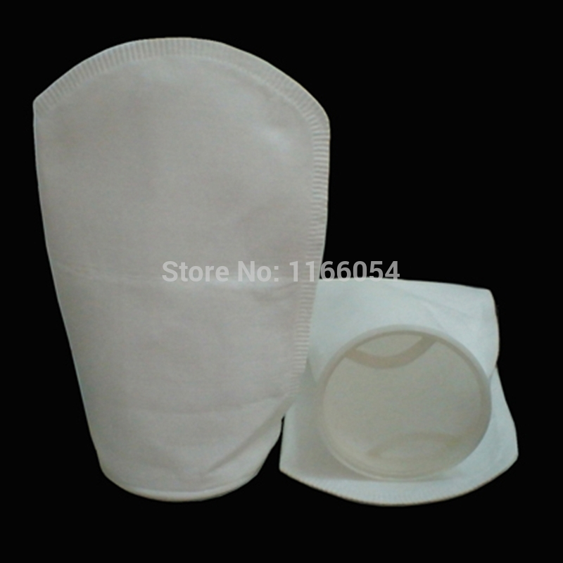 "100X210MM Industrial pocket Filter Sock Bags 1-200um micron mesh PP/PE 4""x9""(China (Mainland))"