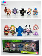 Kissen Newest Free Shipping 5Pcs/set Hot Genuine Dota 2 Cartoon PVC Fine Hand Action Figure Kids Model Dota Animation Gank Toys