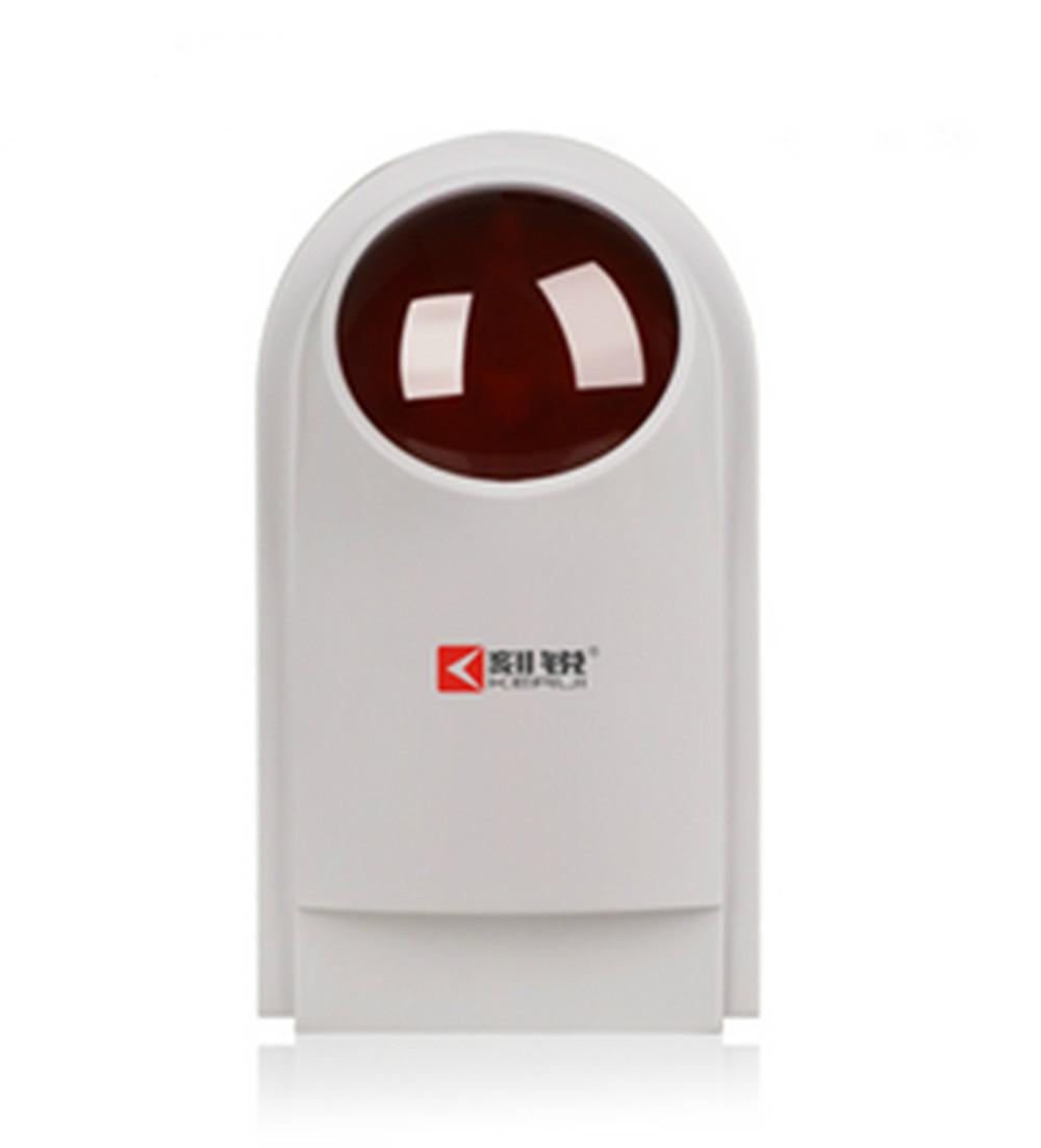 Multi-Functional Wireless Shine Light Sound Strobe Work As Spot Alarm <br><br>Aliexpress