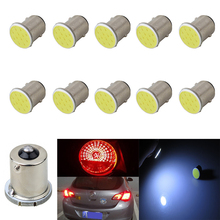 Buy Wholesale new White 10pcs Cob P21w 12Led 12smd 1156 1157 Ba15s 12v Bulbs Rv Trailer Truck Car Styling Light Parking Auto Lamp for $3.00 in AliExpress store