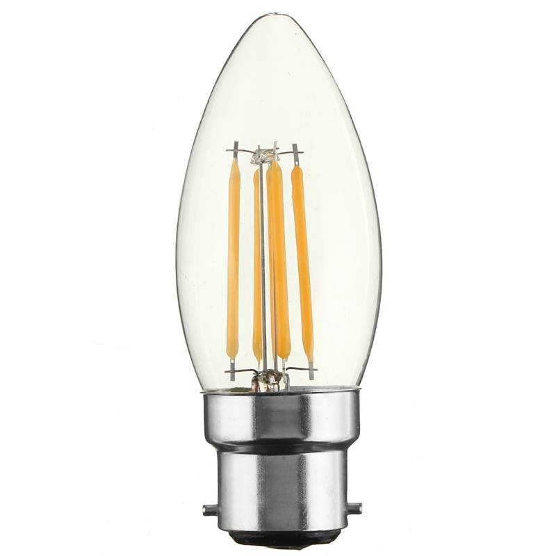 Best Price B22 C35 2W 4W 6W LED COB Edison Retro Vintage Filament Candle Light Lamp Bulbs Warm Pure White Non Dimmable AC220V(China (Mainland))