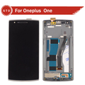 For Oneplus one plus One lcd display with touch screen digitizer assembly with frame free shipping