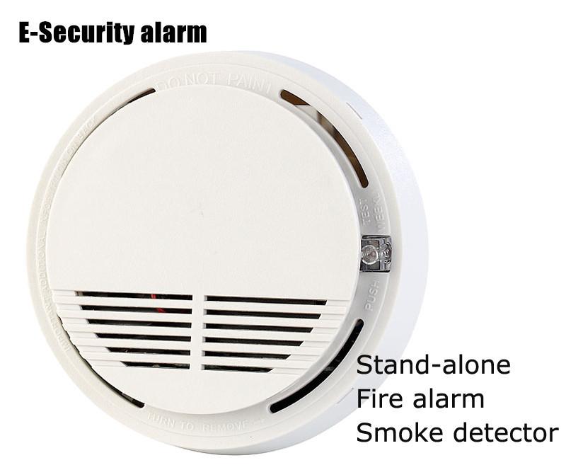 High sensitivity 12V Wireleess Smoke Detector fire alarm sensor Work with 433Mhz Wireless Alarm System (2pcs SM-100)