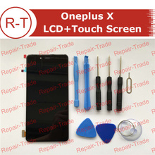 Oneplus X LCD Screen 100% Original FHD 5.0inch 1920X1080 lcd display With Touch Panel Replacement For oneplus X ( black)