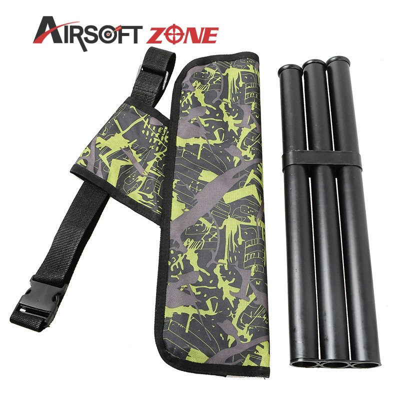 3 Tube Archery Quiver Quiver Camouflage Holder Arrow Quiver Waterproof Caza Arrows Bow Bag For Hunting