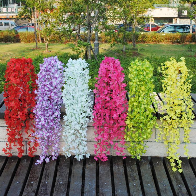 Simulation flower artificial flower plastic flower vines green radish roses and green plants evergreen vine flower Home decor(China (Mainland))