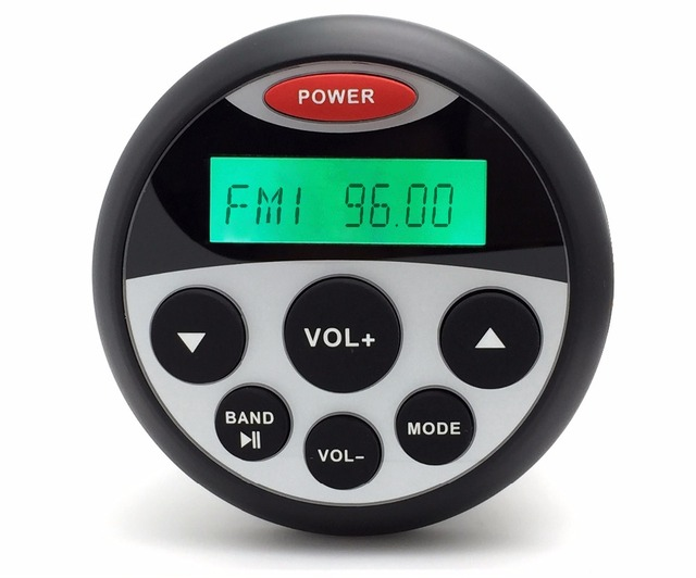 "3.5"" Waterproof Marine MP3 Radio Stereo for SPA  Radio Stereo Tractor ATV Motorcycle Radio Audio Sound System MP3 USB Player"