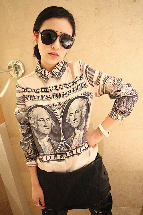 Festival boyfriend us dollar note print money vintage for 6 dollar shirts coupon code free shipping