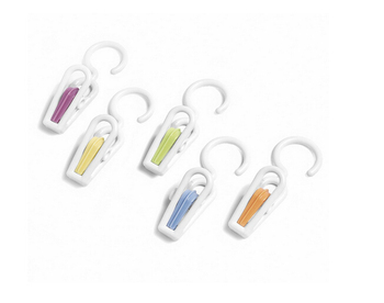 5 PCS Fashion Color Collection Hanging Super Hold Clips Facilitate drying clip AE03201