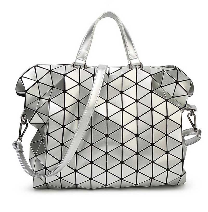 2016 Large Geometric Issey Miyake BaoBao Bag Folding Luxury Handbags Women Bags Designer Handbags High Quality