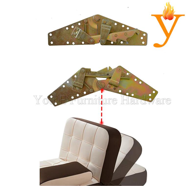 Folding Sofa Bed Mechanism Adjustable Furniture Backrest Hinges D05(China (Mainland))