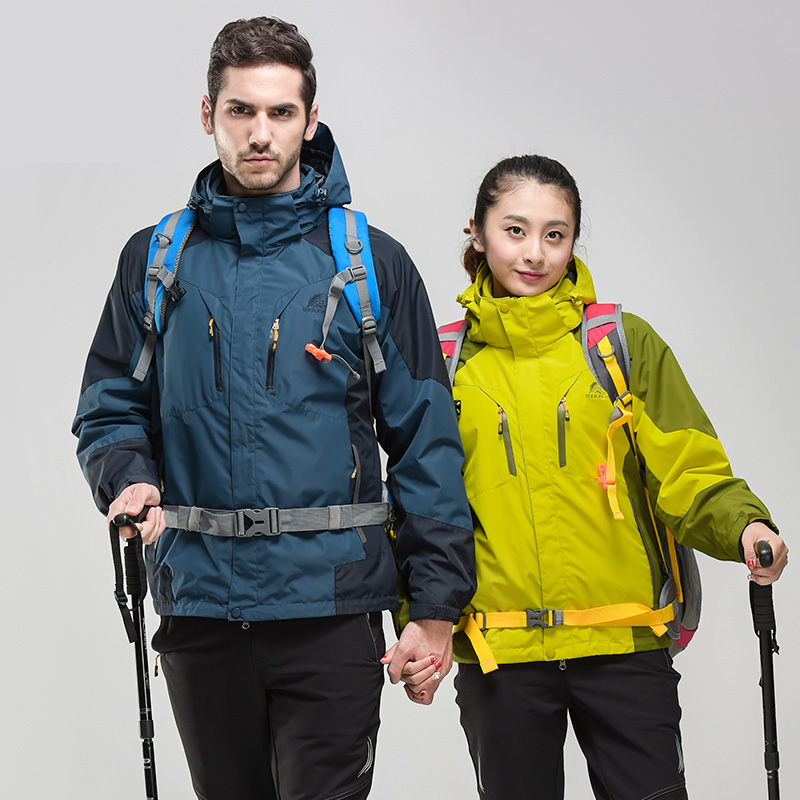 Outdoor sports clothing for men women ski wear windproof breathable waterproof jacket coat two-piece mountaineering tourism New<br><br>Aliexpress