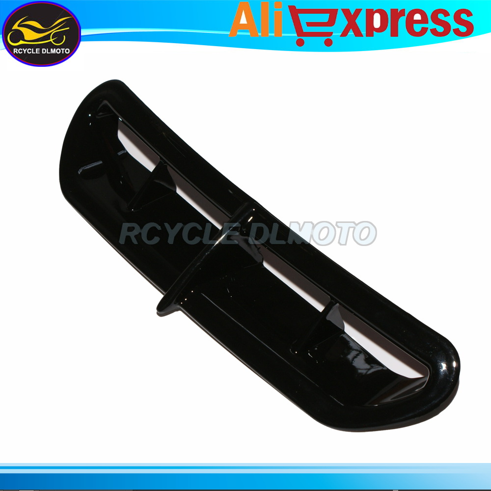 Hot Sales Motorcycle Black Fairing Vent Air Duct Bezel For Harley 2014-2015 Electra Street Tri Glide Free Shipping(China (Mainland))