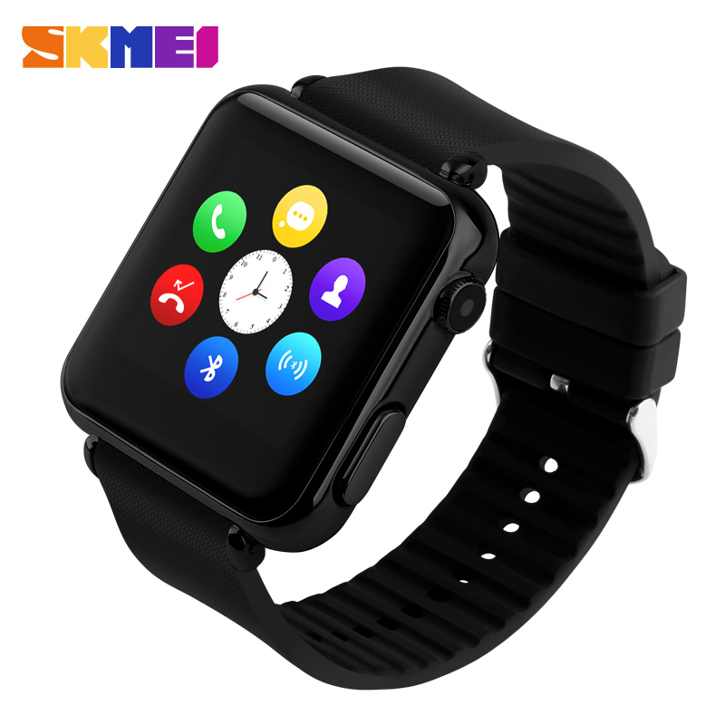 Men Women Sports Wristwatch Multifunction Bluetooth Smart Led Digital Touch Watch 130 Million Camera Support Sim