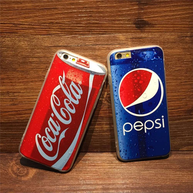 Case iPhone 5/5S/6/6S/6Plus/6SPlus Coca-cola 3 wzory
