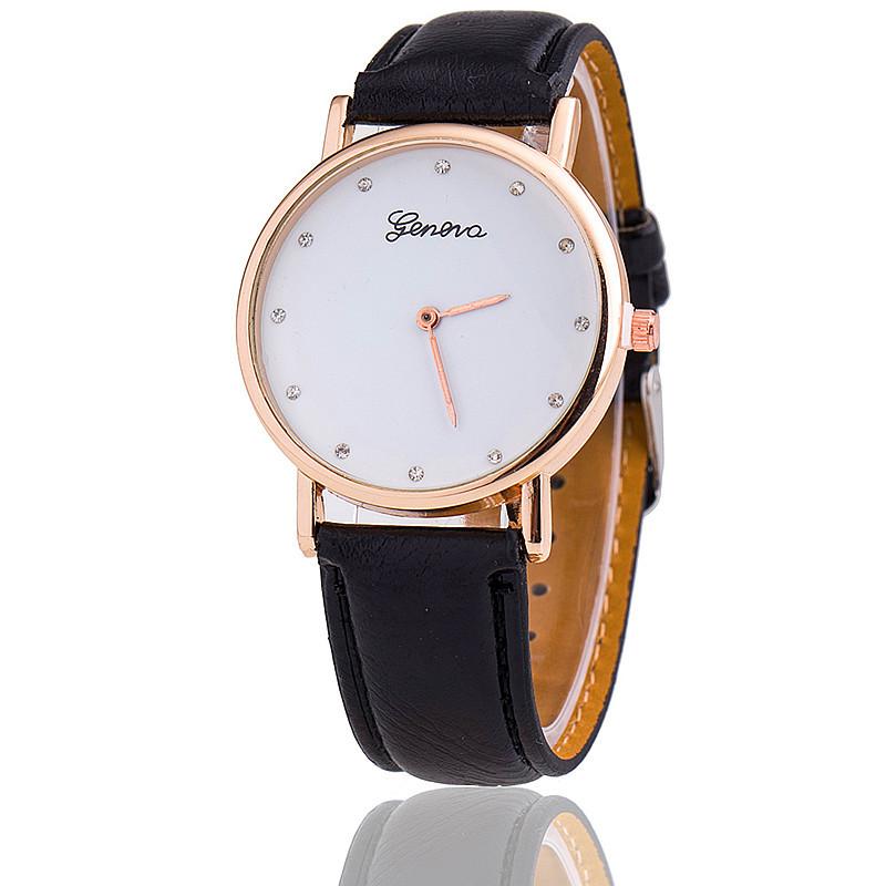 Fashion Geneva Watch Relogio Feminino Women Leather Strap Watches Quartz relogio masculino - aiwise store