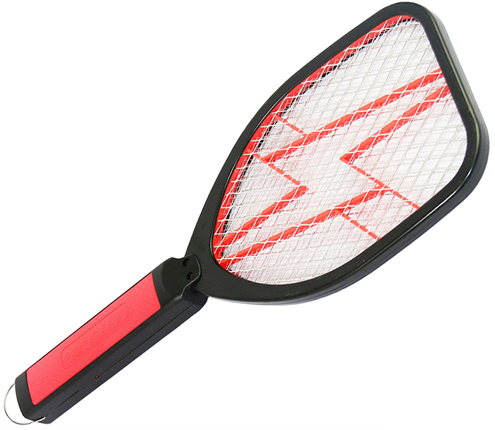 Electronic Fly Swatter Zapper Bug Zapper Racket 2 AA Batteries(China (Mainland))
