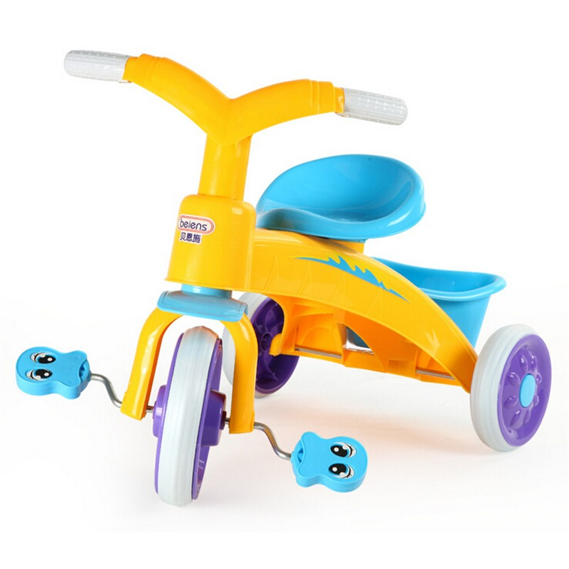 Children Tricycle Bike Outdoor Toys Child Bike Car 3 Wheels Bicycles Nurseries Safe ABS Environment Protect Material(China (Mainland))