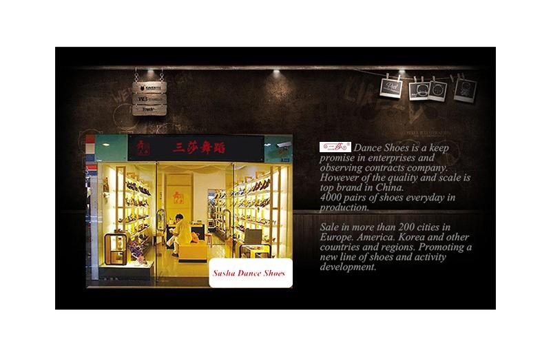 Brand direct selling genuine sasha  Adult female soft bottom Ballroom Latin Shoes Flamenco shoes Two colors 303