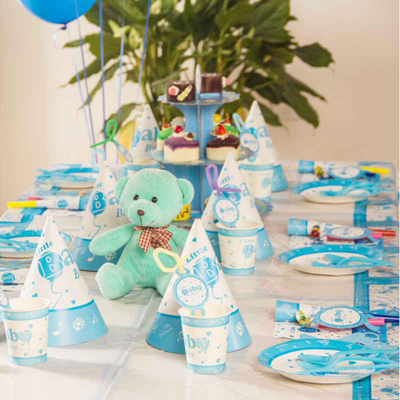 Birthday decoration ideas for baby boy image inspiration for Baby birthday decoration images