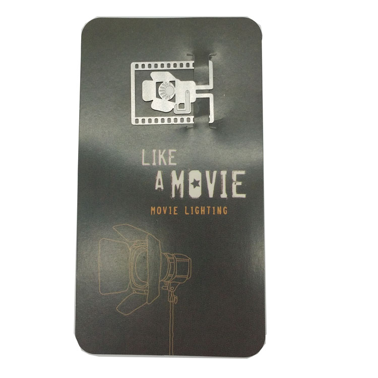 Creative Movie Props Personalized Metal Bookmark 2.6*1.8cm, Mini Metal Stainless Steel Lovely Bookmarks For Books(China (Mainland))