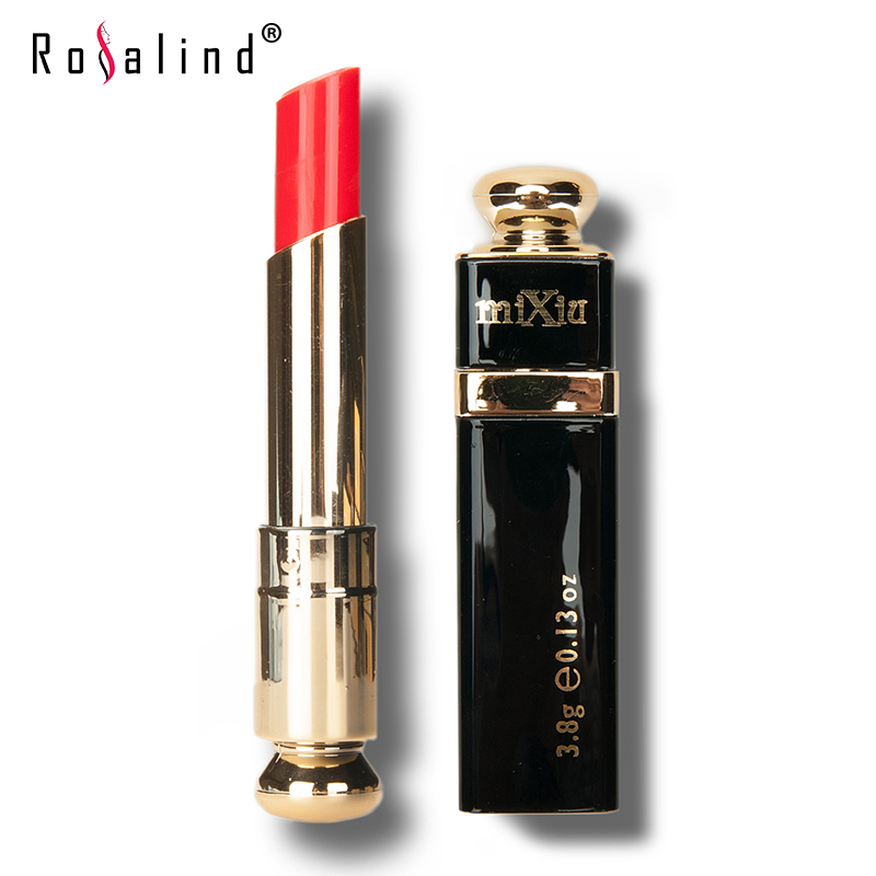 Rosalind Professional Lips Makeup 15 Colors Optional Lipstick Long lasting Party Cosmetics Beauty Brand MIXIU