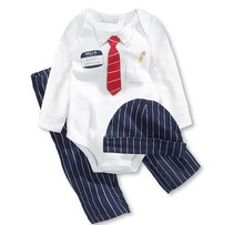 Baby Cotton Gentleman Bow Tie Jumpsuits Boys Long-Sleeved Rompers+Hat+Pants Dets Children Clothing Suits