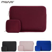Mosiso 11.6 13.3 15.6 inch Laptop Sleeve Bag Waterproof Notebook Computer Handbag Case for MacBook Air Pro 11 12 13 15 Asus HP(China (Mainland))