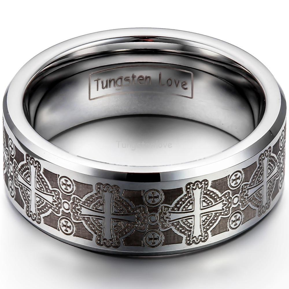 inexpensive wedding rings: men s gothic wedding rings