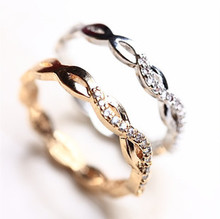 2016 new Party New Sapphire Jewelry Bijoux Fine Kpop Rings For Vintage Anel Feminino Bague Femme Anelli Retro Crown Rock Waves