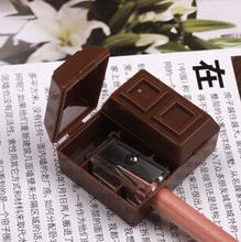 Creative шоколад дизайн карандаш комплект точилка с резинкой корейский канцелярские каваи абс механический точилка