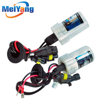 H3 HID Xenon Pure White Replacement Car 6000K 35W Headlight Headlamp Bulb Lamp parking Car Light Source
