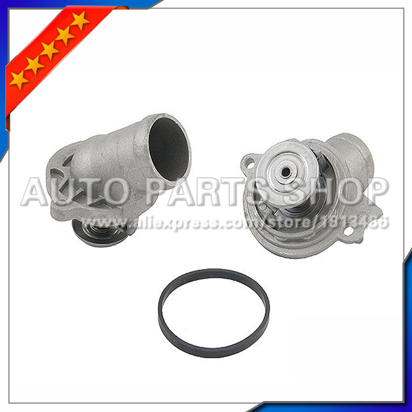 auto parts Free shipping Coolant Thermostat With Housing for Mercedes W221 W220 W163 W211 1122030275(China (Mainland))