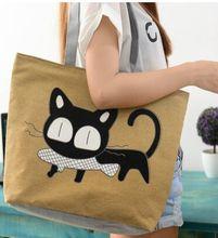 NewCat bag handbag Shoulder Bags canvas bag fashion bag Cartoon package wholesale