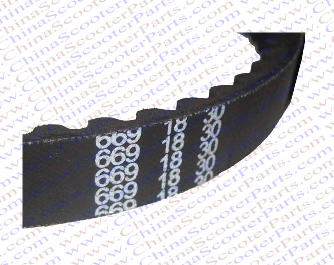 2PCS 669 18 30 CVT Drive Belt font b GY6 b font 49CC 50CC 139QMB Scooter