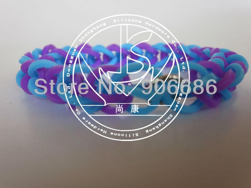 Free shipping,Candy Colors, Silicone Rubber Wristbands, Stretchy Elastic Bracelets, Wrist Band,rainbow bracelet,150pcs/lot(China (Mainland))