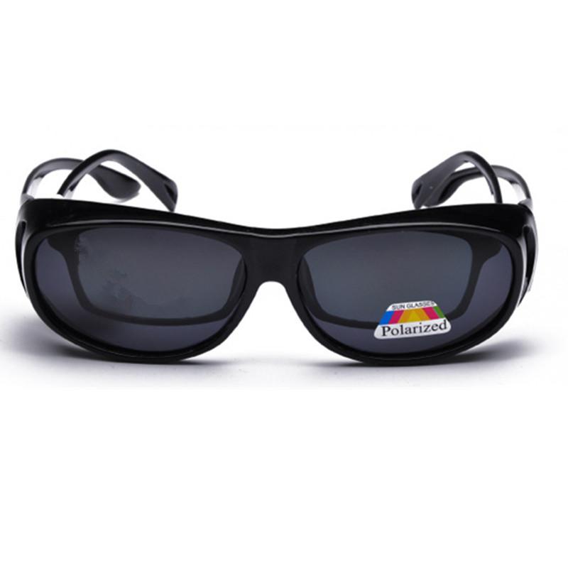 2prs/lot  Mens Outdoor Sports Prescription Fit-over Sunglasses
