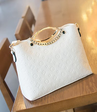 Women s Handbag Shoulder Bags Ladies Handbags Tote Bag Women Famous Brand PU Leather bags 2015