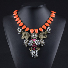 2015 Factory Stock Necklace Wholesale Statement Necklace High Quality Luxury Jewelry For Women Hurry selling fast