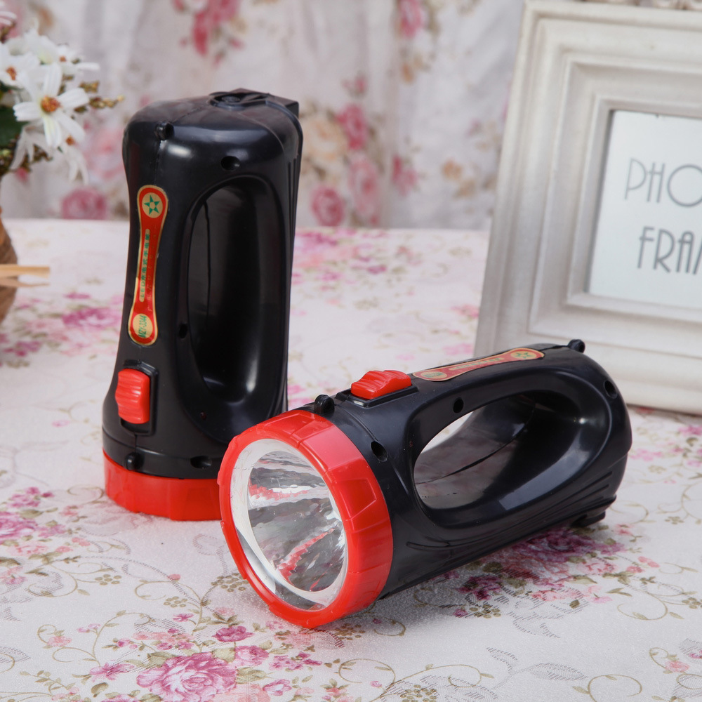 The new hand-held flashlight 2nd rechargeable portable lights portable outdoor searchlight(China (Mainland))